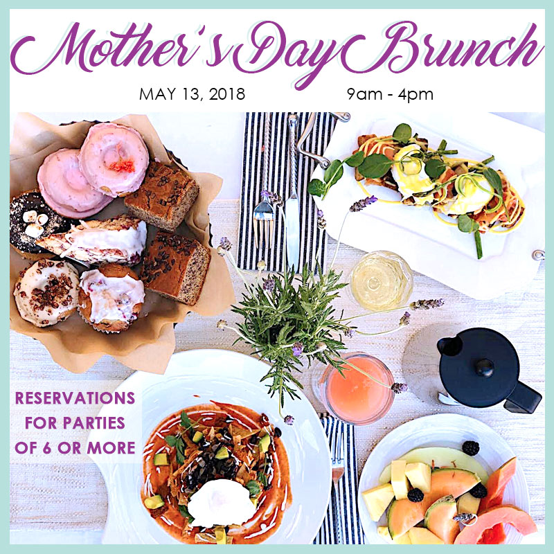 Mothers Day Brunch Reservation EAT Extraordinary Artisan Table - Table 6 reservations